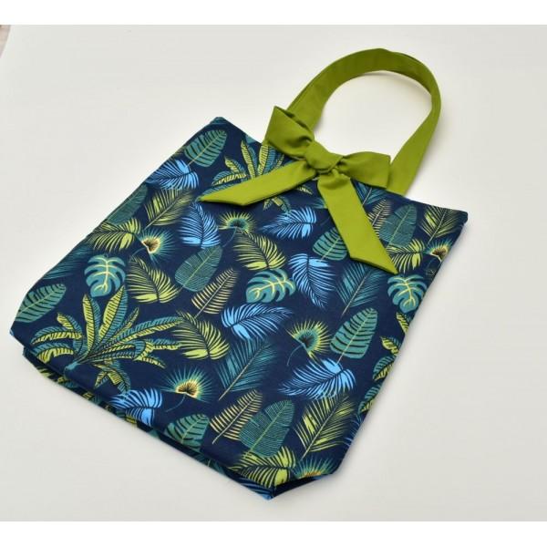 Текстилна чанта с две лица
