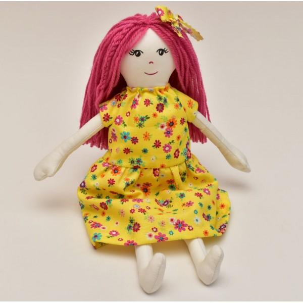 Кукла - ръчно изработена