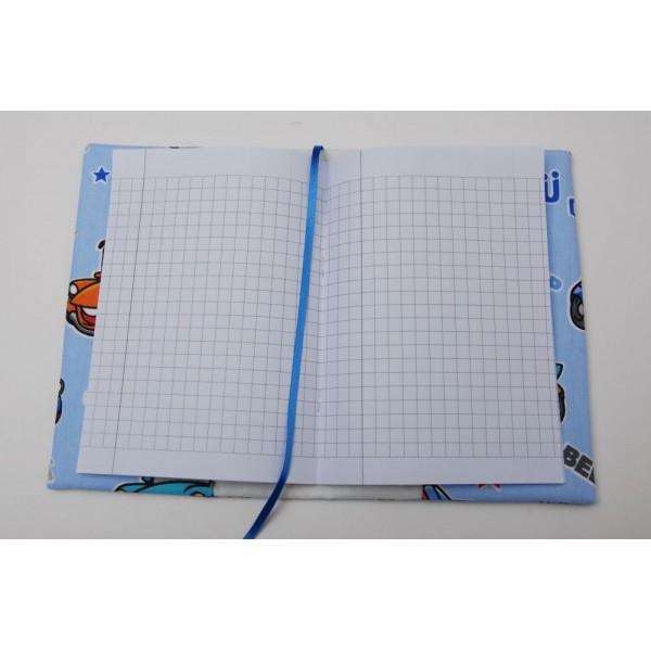 Подвързия за тетрадки, тефтери и книжки, размери А 5.